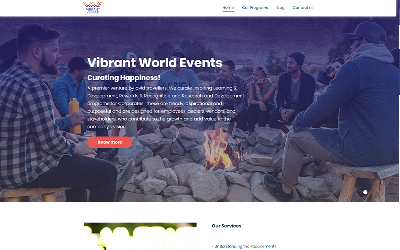 Vibrant World Events